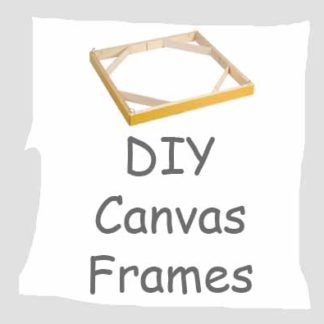 DIY Canvas Frames